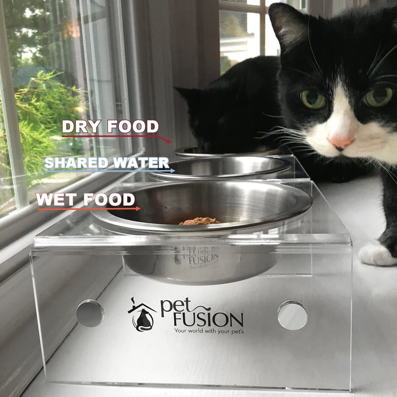 PetFusion | SinglePod Feeder in Acrylic | Short | set