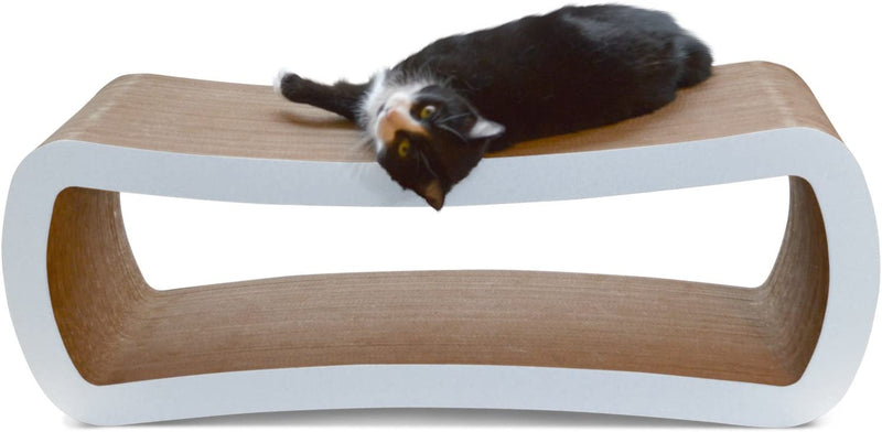 PetFusion | Jumbo Cat Scratcher Lounge | White