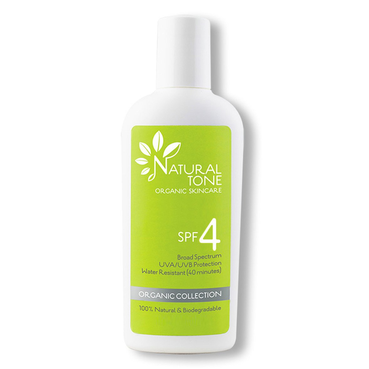 SPF 4 Natural Sunscreen - Natural Tone Organic Skincare