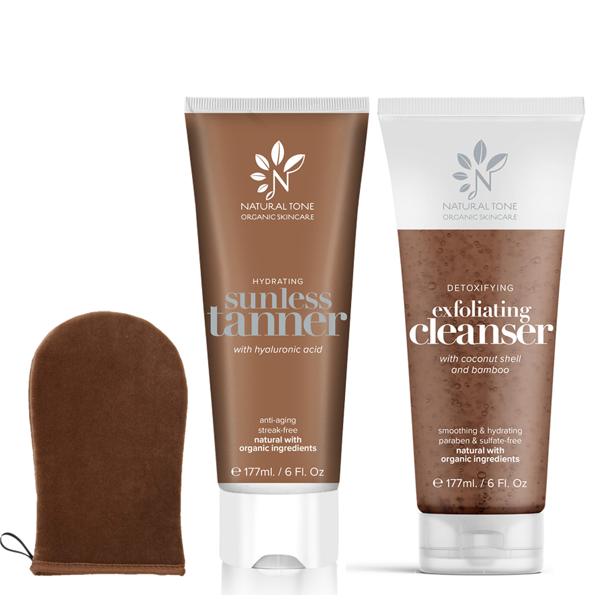 Total Sunless Tanning Pack - Natural Tone Organic Skincare