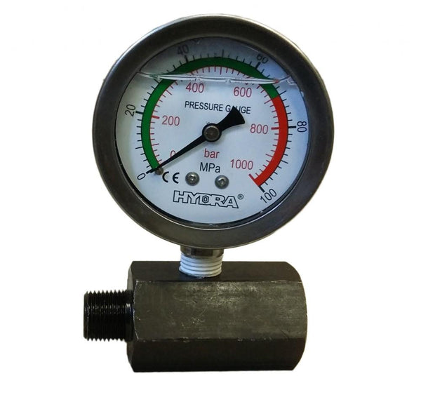 Manometer mit Stand 800 Bar - 63 mm (SPG60)