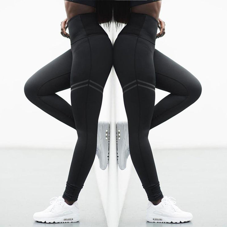High Elastic Fitness Sport Leggings - A&W health and fitness marketplace