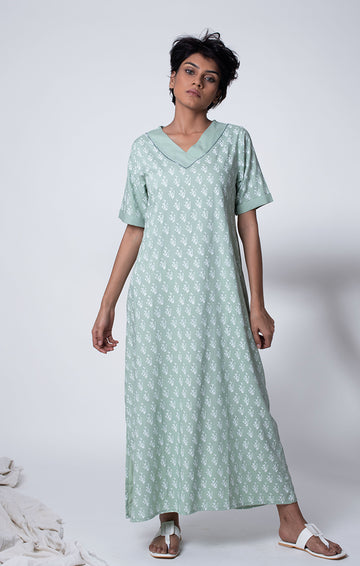 Maxi Dress - Sage Green or Dusty Blue