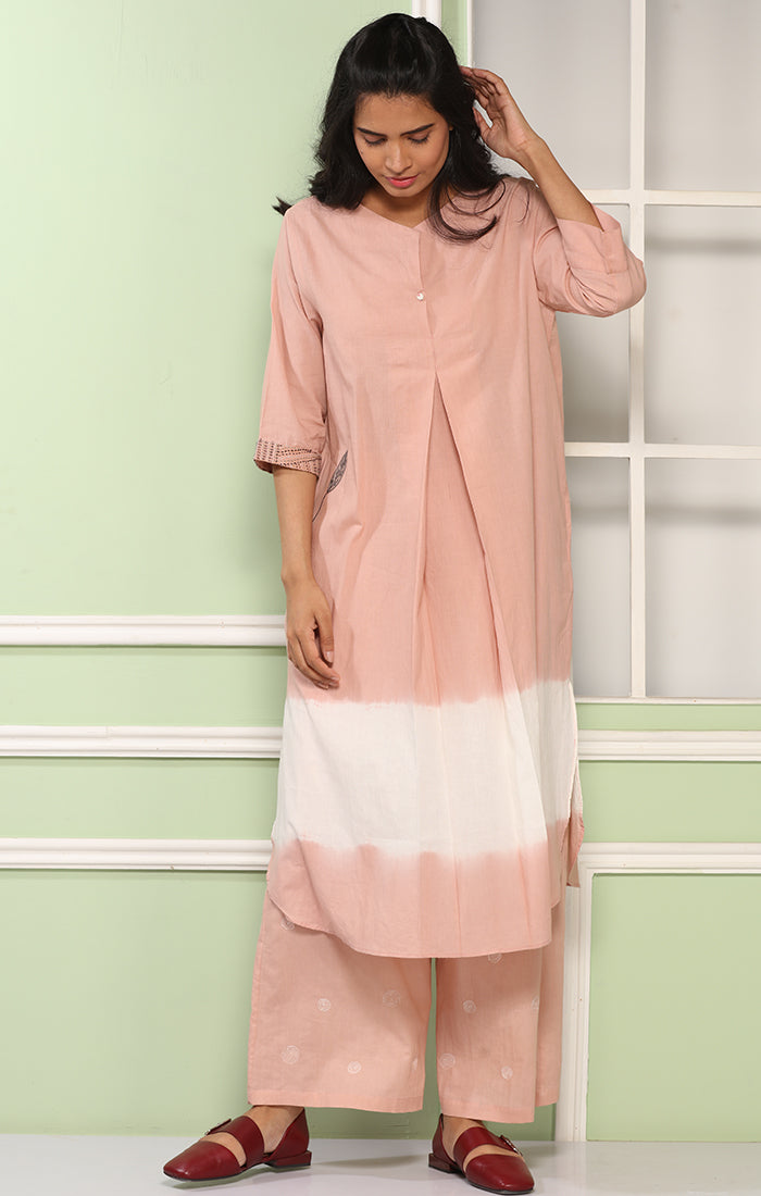 Flamingo Pink Tunic Dress