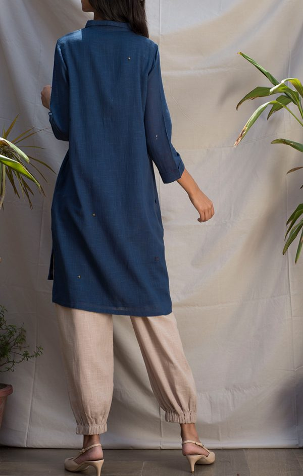 Tunic Dress - Blue
