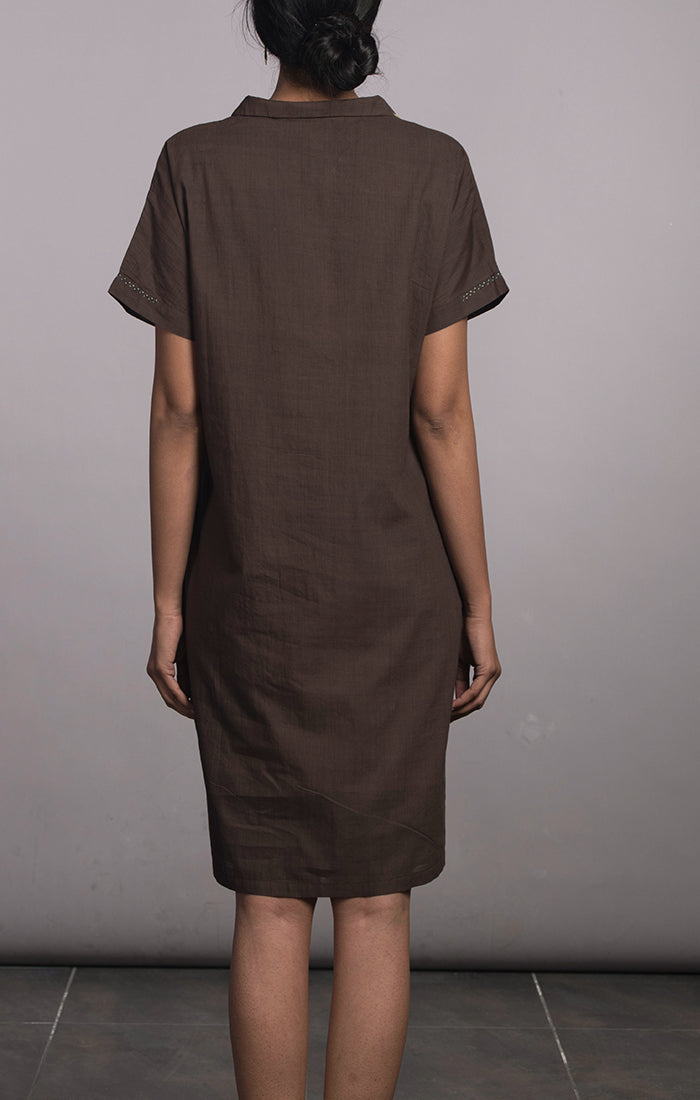 Shift Dress Cinnamon