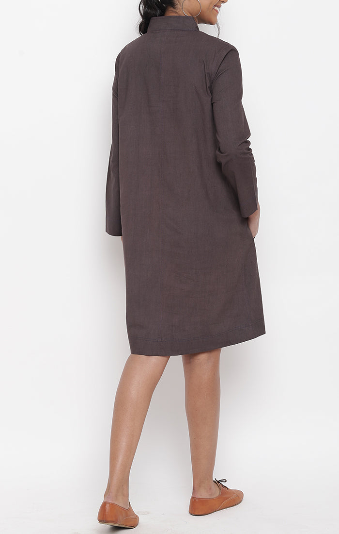 Cinnamon Organic Cotton Shift Dress
