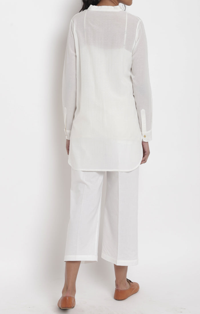White Tunic - Corn Fabric