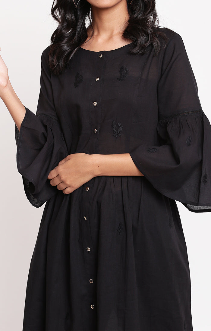 Tunic Dress - Black