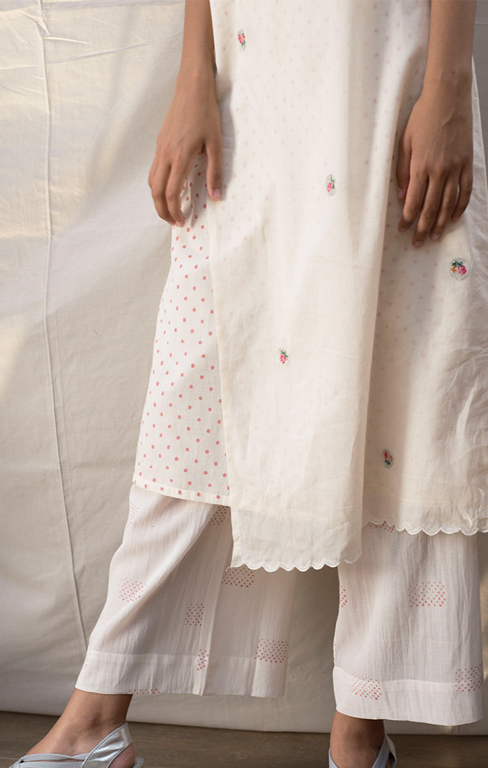 Ivory Tunic with pants