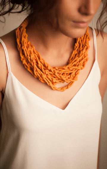 Macrame Knots - Burnt Orange