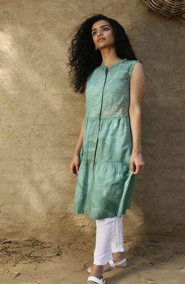 Jade Green Tunic Dress