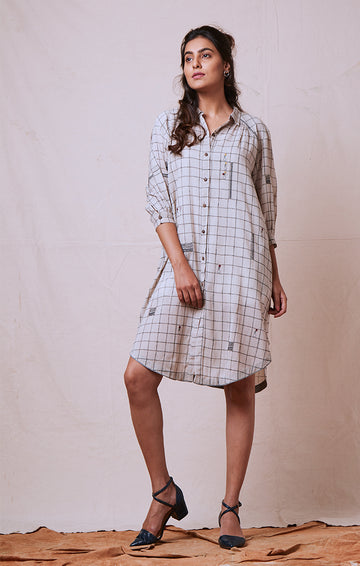 Shirt Dress Knee Length