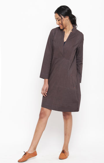 Cinnamon Organic Cotton Tunic Dress