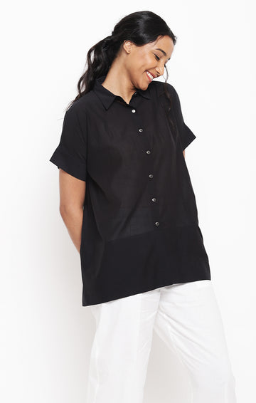 Black Top - Corn Fabric
