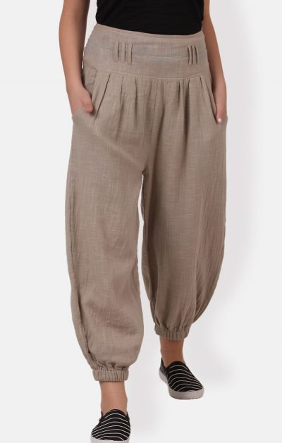 Peg Trousers - Natural