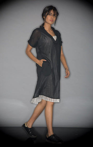 Shift Dress Black