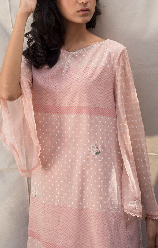 Blush Pink Tunic Dress