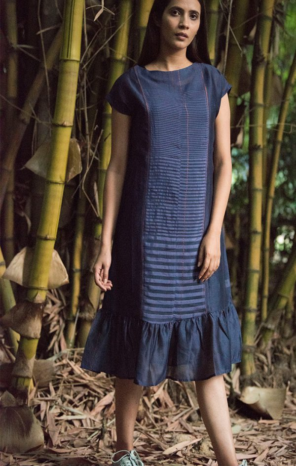 Shift Dress - Chanderi