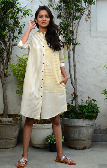 Natural Shirt Dress