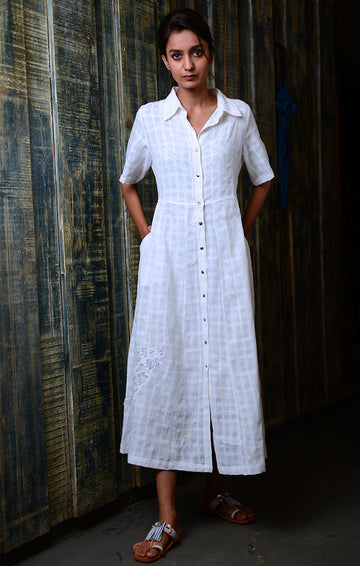 White Shirt dress