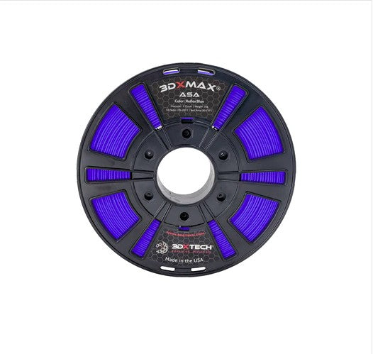 3DXMAX Reflex Blue ASA 3D Printer Filament