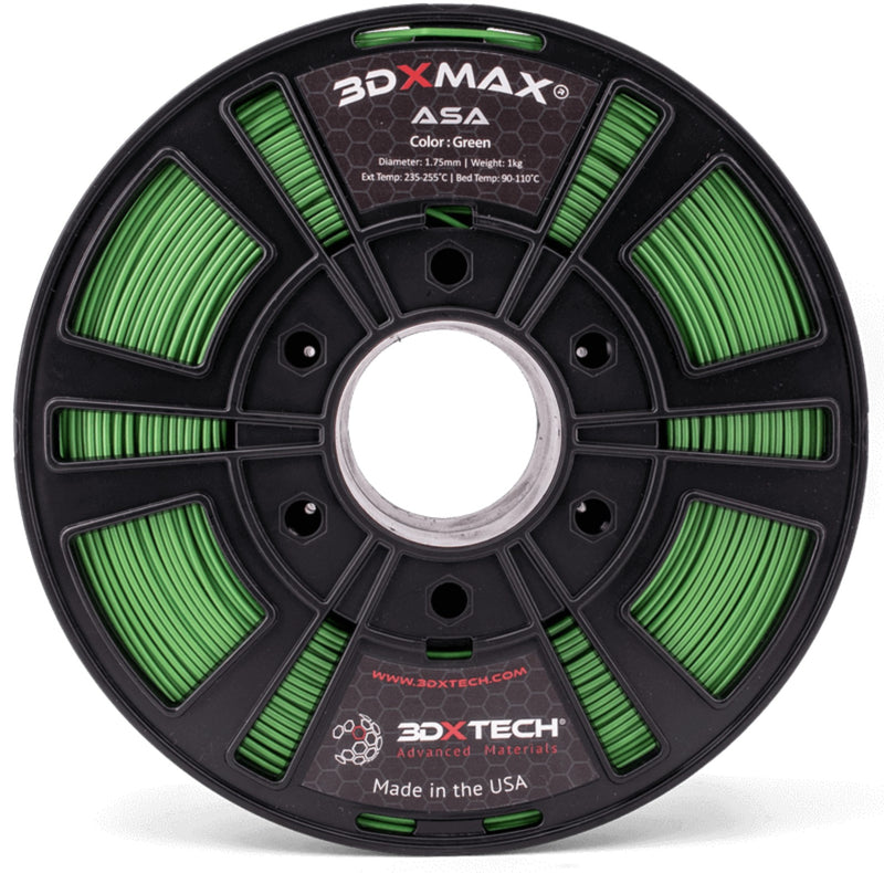 3DXMAX Green ASA 3D Printer Filament