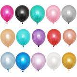 10pcs Gold White Black Pink Latex Balloons Birthday Party Wedding Decoration Inflatable Balloon Air Kids Toys Baby Shower Ballon