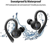 Wireless Earbuds Bluetooth 5.0 Headphones in-Ear Mini TWS Stereo IPX7 Waterproof Wireless Earphones with Charging Case