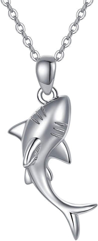 Shark pendant necklace, men's and women's necklaces