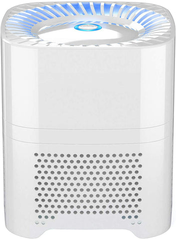 Air Purifier - Quietly Ionizes and Purifies Air to Reduce Odors and Particles from the Air