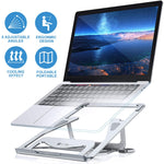 Notebook computer stand, foldable computer stand, 5 kinds of dispatchable, ergonomically designed laptop stand