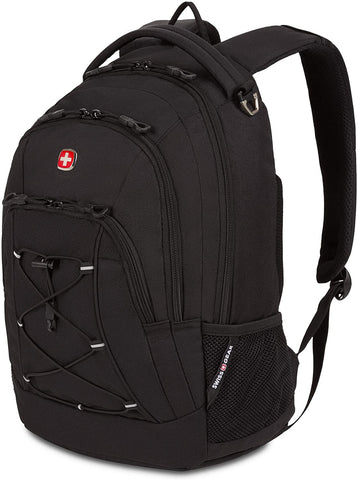 Bungee Backpack, Black/Grey, One Size