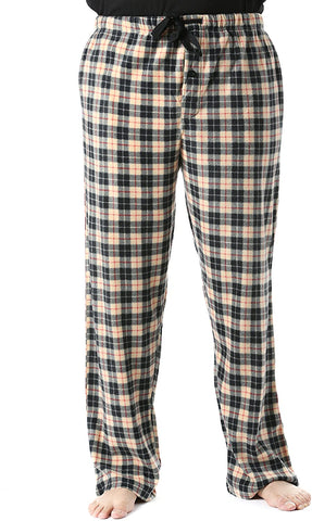 Christmas Men's Plaid Pajama Pants with Pockets