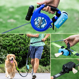 Dog Poop Waste Bag Dispenser Pouch Pet Puppy Cat Pick Up Poop Bag holder Outdoor Pets Supplies Garbage Bags Organizer