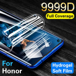 Screen Protector on For Honor 20 Pro 10 Lite 9999D Hydrogel film Honor 9 10 Lite V20 Huawei Mate 30 Pro Protective not glass