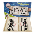 Table Hockey Paced Sling Puck Board Games Winner Party Game Toys For Adult Child Family Party Game Toys