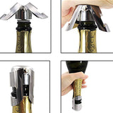 champagne cap - 304 stainless steel champagne cork portable sealing machine bar stopper wine cork sparkling wine