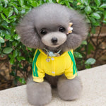 Pet Dog Clothes Warm Dog Jumpsuit Cat Puppy Pajamas Clothing Thicken Pet Hoodie Coat Outfit