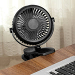 Portable mini USB rechargeable air fan, suitable for family  office gym