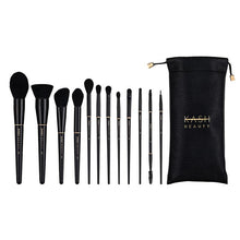 Load image into Gallery viewer, Luxury Brush Set and Kash Beauty Pouch