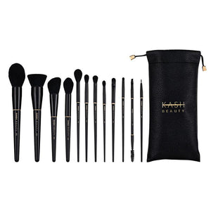 Luxury Brush Set and Kash Beauty Pouch
