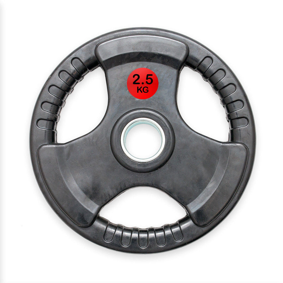 Rubber Trigrip Weight Plates (2.5kg and 5kg)