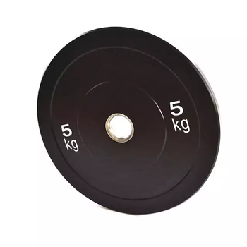 5kg Black Rubber Bumper Plates from Fitness Equipment Cork