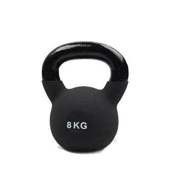 Black 8kg Kettlebell from Fitness Equipment Cork