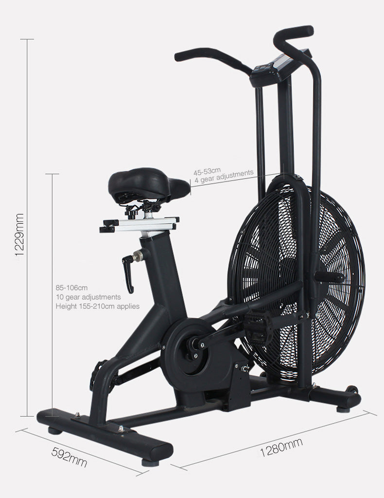 Rebel Air Bike Dimension from Fitness Equipment Cork