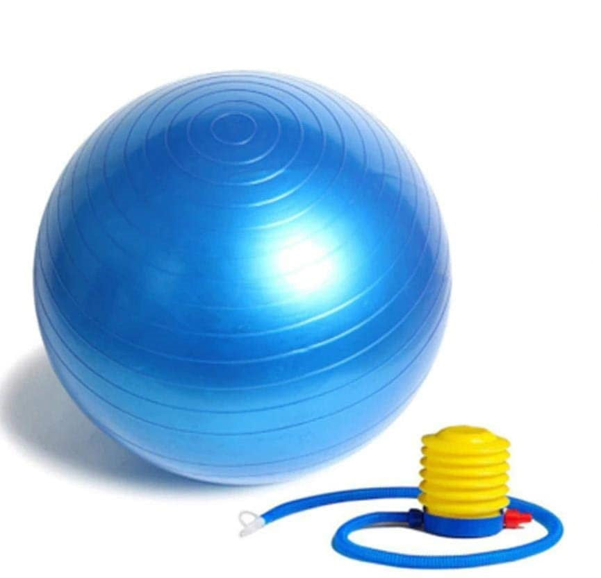 Fitness Equipment Cork Anti Burst Blue Yoga Ball