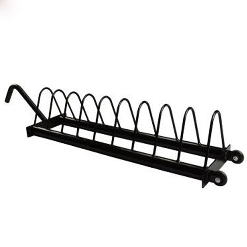 Plate Storage Rack from Fitness Equipment Cork