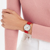 mondaine classic seasonal red 30mm