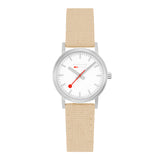 mondaine classic seasonal beige 30mm